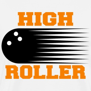 Bowling High Roller T-Shirt - Men's Premium T-Shirt