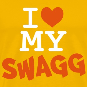 I love my swagg T-Shirts - Men's Premium T-Shirt