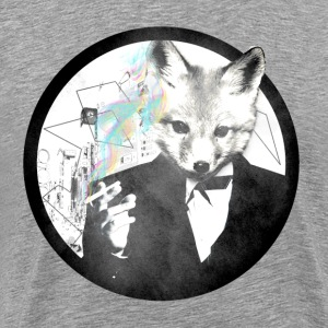 Smoking Fox- Men - Men's Premium T-Shirt
