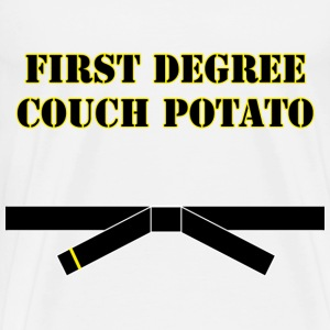 First Degree Couch Potato - Men's Premium T-Shirt