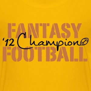 2012 fantasy football champion Kids' Shirts - Kids' Premium T-Shirt
