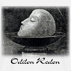 Odilon Redon - Head of a Martyr - Men's Premium T-Shirt