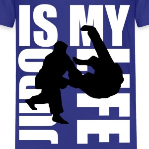 judo is my life Kids' Shirts - Kids' Premium T-Shirt