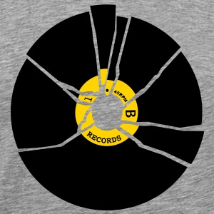 music record T-Shirts - Men's Premium T-Shirt