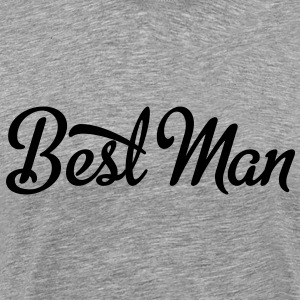 best man T-Shirts - Men's Premium T-Shirt