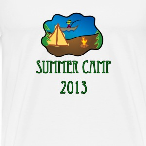 summer camp 2013 truck stop novelty tee T-Shirts - Men's Premium T-Shirt
