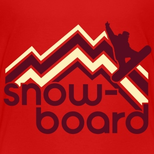 snowboard Baby & Toddler Shirts - Toddler Premium T-Shirt