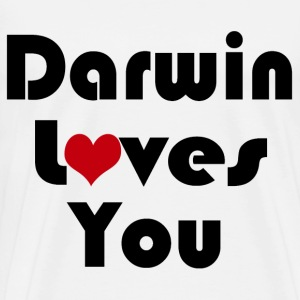 Darwin Loves YOU - Men's Premium T-Shirt