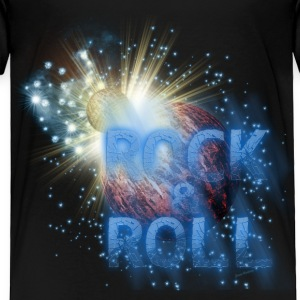 Rock  n Roll Planet Explosion Baby & Toddler Shirts - Toddler Premium T-Shirt
