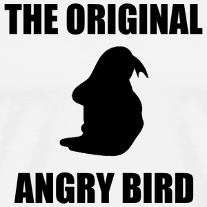 The Original Angry Bird Black T-Shirts - Men's Premium T-Shirt