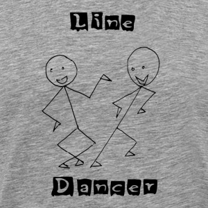 Line Dancer T-Shirts - Men's Premium T-Shirt