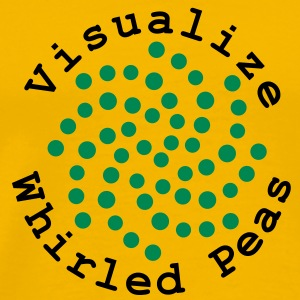 Visualize Whirled Peas T-Shirts - Men's Premium T-Shirt