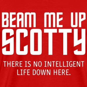 Beam Me Up Scotty - Men's Premium T-Shirt