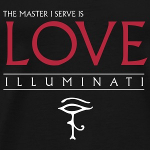 Illuminati Master I serve T-Shirts - Men's Premium T-Shirt