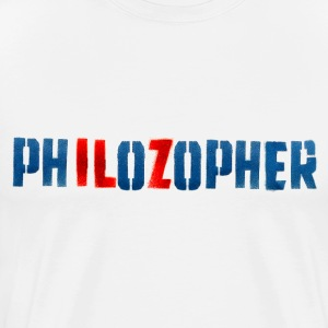 PHILOZOPHER by Tai's Tees - Men's Premium T-Shirt