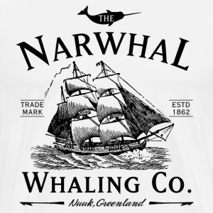 The Narwhal Whaling Company T-Shirts - Men's Premium T-Shirt