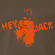 Design ~ Si Hey Jack shirt - Men's Black