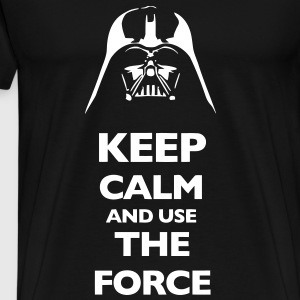 KCCO Keep Calm And Use The Force T-Shirts - Men's Premium T-Shirt