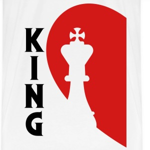 King of Love - T-shirt premium pour hommes