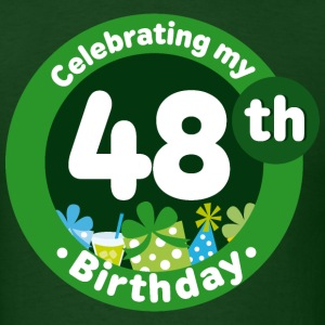 48th Birthday Mens T Shirts | Adult Birthday Shirt - Men's T-Shirt