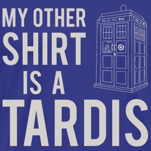 My Other Shirt Is A Tardis - Men's Premium T-Shirt