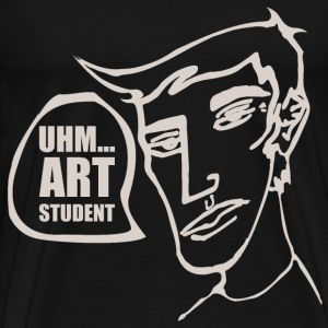 Uhm... Art Student - Men's Premium T-Shirt