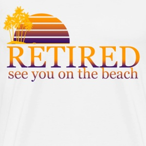 funny retirement - Men's Premium T-Shirt