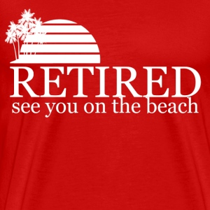 see you on the beach - Men's Premium T-Shirt