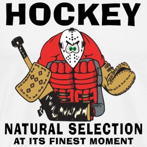 Hockey Natural Selection T-Shirt - Men's Premium T-Shirt