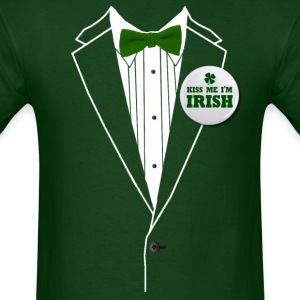 St. Patrick's Day Tux T-Shirts - Men's T-Shirt