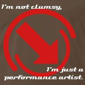 I'm not clumsy - Men's Premium T-Shirt