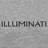 Design ~ Illuminati Trademark T Shirt - Black Print