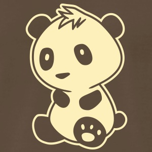 Kawaii Panda T-Shirts - Men's Premium T-Shirt