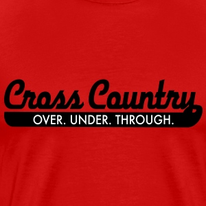 cross country T-Shirts - Men's Premium T-Shirt
