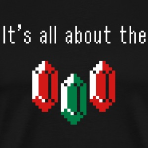 It's all about the rupees (darkshirt) T-Shirts - Men's Premium T-Shirt