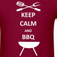 BBQ Barbecue Keep Calm T-Shirt