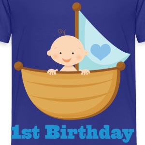 1st Birthday Boy Baby & Toddler Shirts - Toddler Premium T-Shirt
