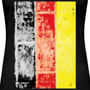 German vintage flag - Women's Premium T-Shirt
