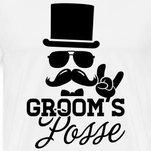 Groom Wedding Marriage Stag night bachelor party T-Shirts - Men's Premium T-Shirt