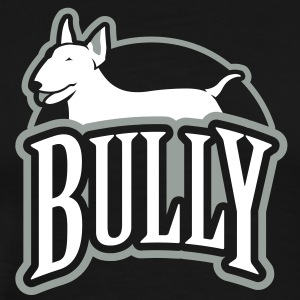 Bull Terrier bully_g_2c_4dark T-Shirts - Men's Premium T-Shirt