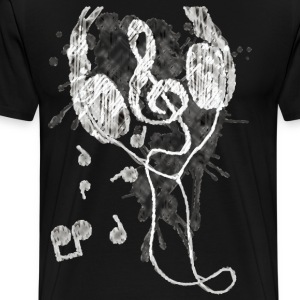 Headphones(G) - Men's Premium T-Shirt