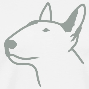 Bull Terrier Head T-Shirts - Men's Premium T-Shirt