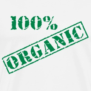 100% Organic Earth Day T-Shirt - Men's Premium T-Shirt