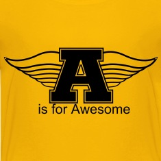 """Flying A"" is for Awesome Kids T-Shirt"
