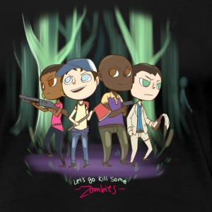 Lets go kill some zombies - Women's Premium T-Shirt