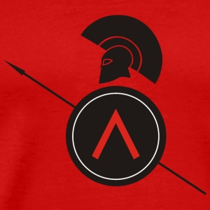 Ancient Greek Warrior - Men's Premium T-Shirt