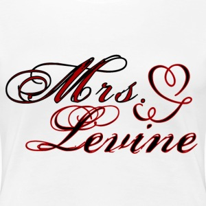 Mrs. Adam Levine Plus size t-shirt - Women's Premium T-Shirt