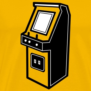 gaming arcade T-Shirts - Men's Premium T-Shirt