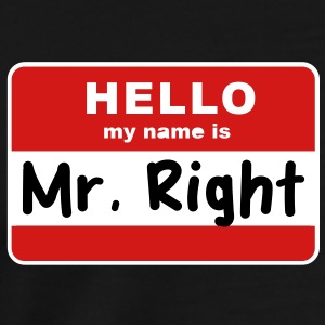 hello my name is T-Shirts - Men's Premium T-Shirt