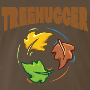 Earth Day Tree Hugger T-Shirt - Men's Premium T-Shirt